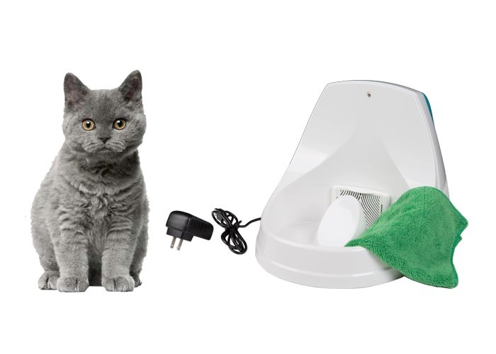 LED Light Quiet Pet Water Fountain Easy To Clean Cat Water Fountain 50/60 Hz